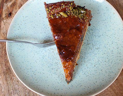 Erdnuss Karamell Kuchen