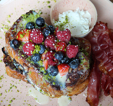 French Toast mit Bacon